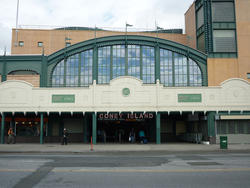 6653   Exterior view of the Coney Island Metro Station