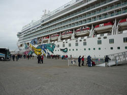 6698   Cruise ship in dock