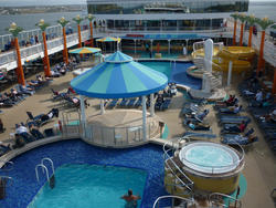 6699   Swimming pool on a cruise liner