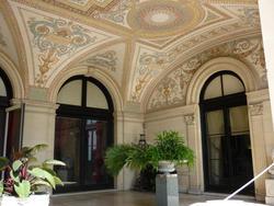 6686   Classical decorative mosaic ceiling