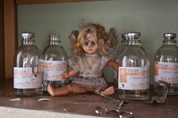 7214   doll in abandoned hospital