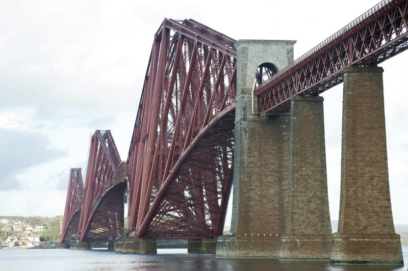 7178   Forth Rail Bridge, Scotland