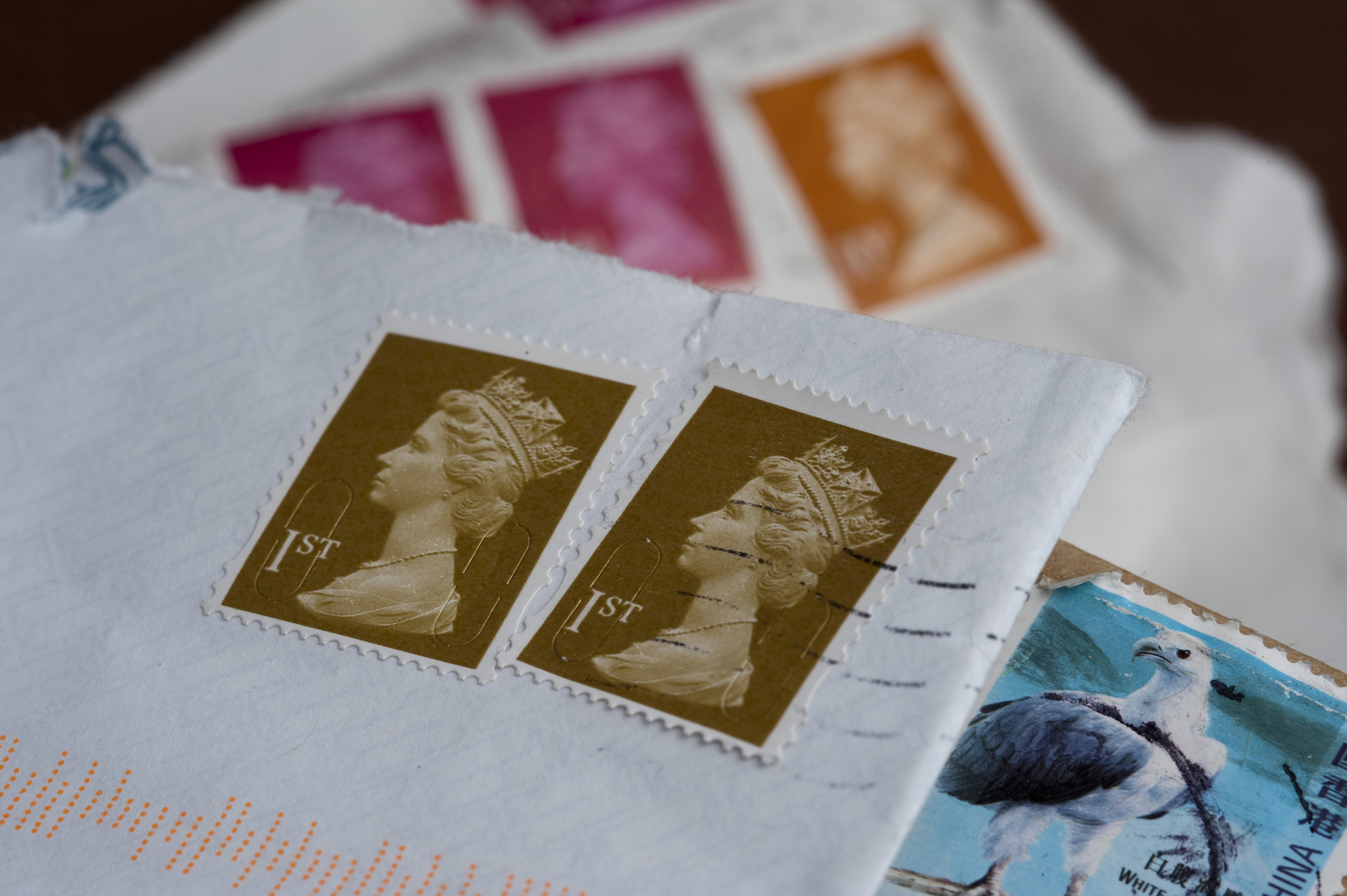 Free Stock 5358 Cancelled British postage stamps