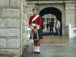 6718   Halifax Citadel guard