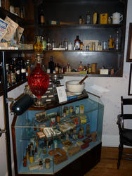 6776   Interior of a historic store