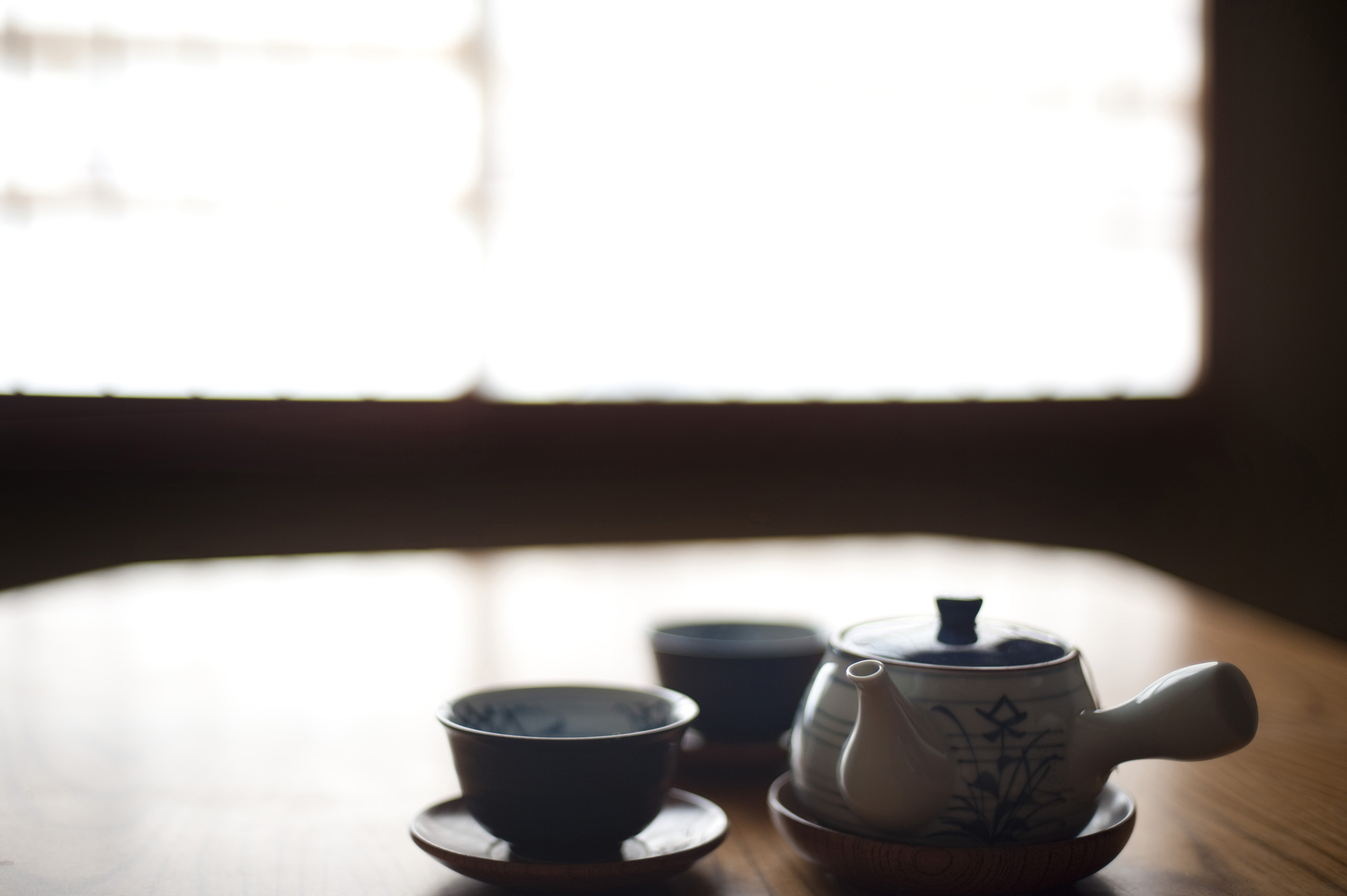 Free Stock Photo 6070 Japanese Tea Pot And Cups