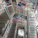 7086   Interior staircase grafitti Kunsthaus Tacheles