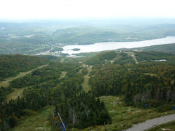 6723   Aerial view of Lac Tremblant