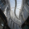 7592   Curving glass roof of the Morgan Arcade