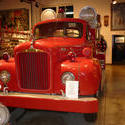 6679   Old red fire truck