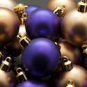 6826   Purple and gold Christmas