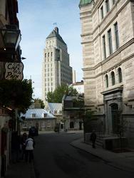 6734   Quebec City architecture