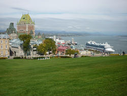 6741   View of Quebec harbour