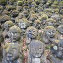 6098   Otagi Nenbutsu ji stone figures