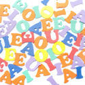 7022   Colourful background of vowels