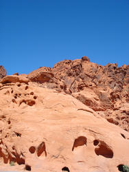 5735   red rock blue sky