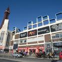7683   Busy street scene in Blackpool