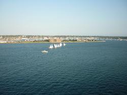 6767   Yachts out sailing