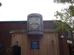 6695   Entrance to Samuel Adams Brewery