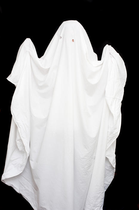 6491   homemade ghost costume