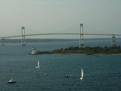 6774   Suspension bridge over water