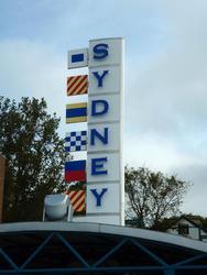 6746   Sydney signpost, Nova Scotia
