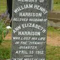 6749   Memorial stone commemorating Titanic victim