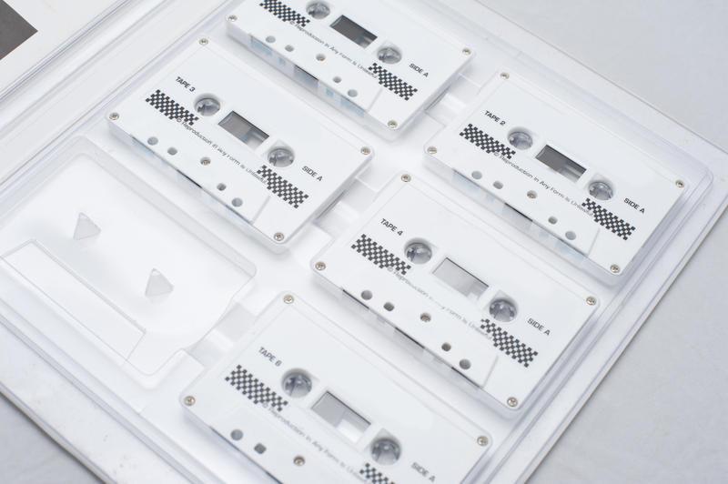Training course on a set of six boxed tapes to teach yourself at home while listening to the recorded information