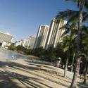 5497   Waikiki beach angled