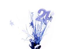 10588   Centrepiece for Male 21st Birthday Celebration