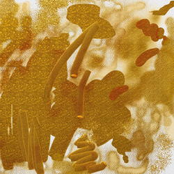 9539   abstract gold scribbles