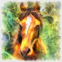 8983   abstract horse