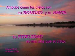 10736   Bondad, Amor y Fidelidad de Dios