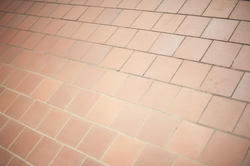 10908   Close Up of Red Brown Brick Tiles