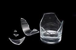 10751   Shattered glass on black