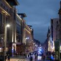 8748   Buchanan Street in Glasgow at night