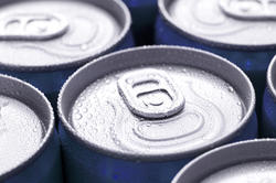 11595   Canned drinks background