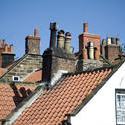 7927   Cottage chimneys