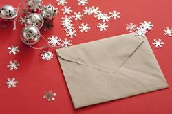10567   Christmas card or correspondence