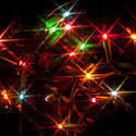 8639   Colourful Christmas lights background