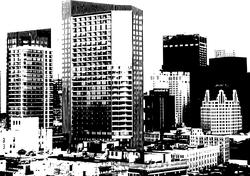 8387   city skyline background