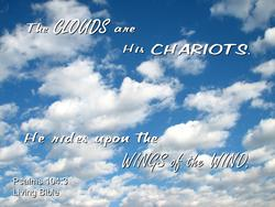 10902   Clouds are His Chariots