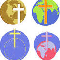 9830   cross globe icons