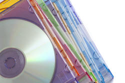 11101   Stack of Compact Discs