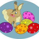 9314   easter bunny