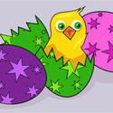 9316   easter chick002