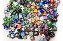 10975   Assortment of Dice from Various Board Games