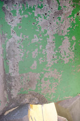 10918   Background texture of green flaking paint