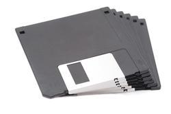 10748   Stack of unused floppy discs