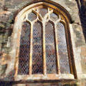9041   fowey church window